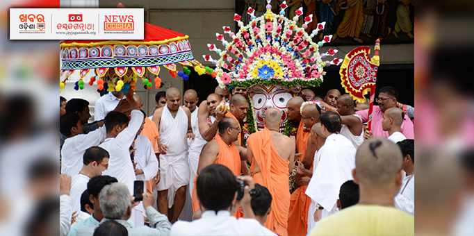 Rath Yatra celebrated at ISCKON temple in Ujjain, MP