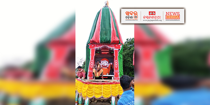 Lord Balabhadra's Rath-Taladwaja in Dhamnagar, Bhadrak