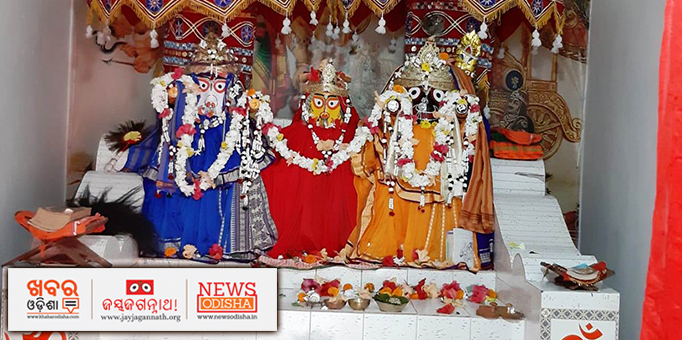 Lord Jagannath returns to his birth place once in a year along with his siblings, pictures from Sundargarh