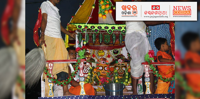 In Tulashi Khetra Kendrapada has its own beautiful way of celebrating Ratha Yatra