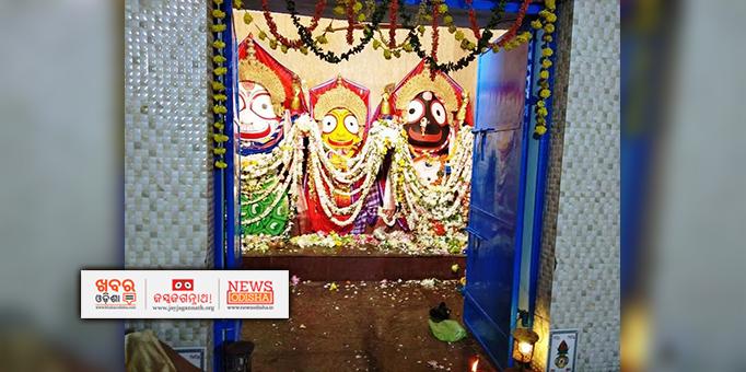 Sib deities on Adapa Mandap in Paralakhemundi, Gajapati