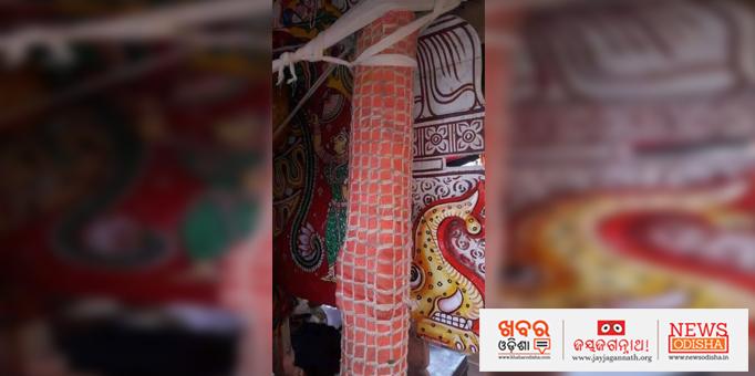 Khabar Odisha:Chakraraj-Sudarshan-on-the-chariot-in-Puri