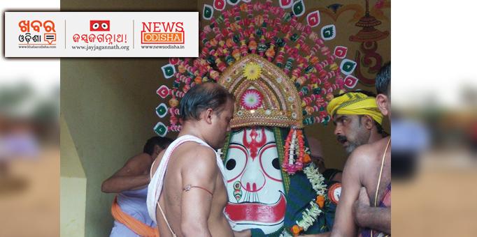 Pahandi Bije of Lord Balabhadra starts