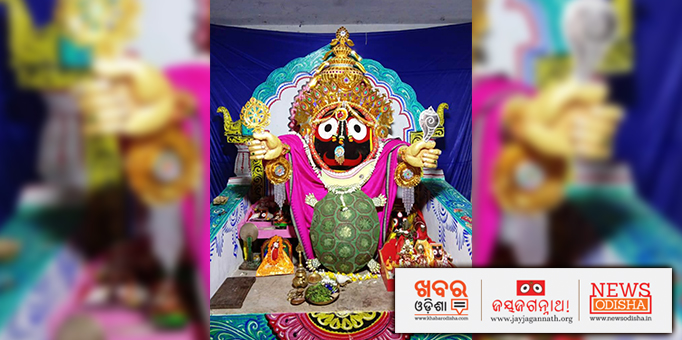 Lord Jagannath appearing before the devotees in Matshya Avatar