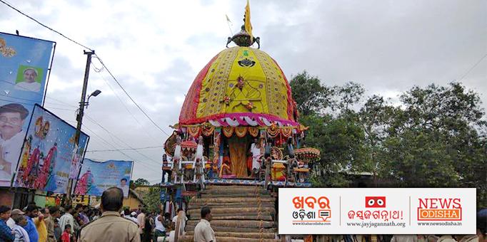 Nandighosha awaits the Great Lord at Athagarh