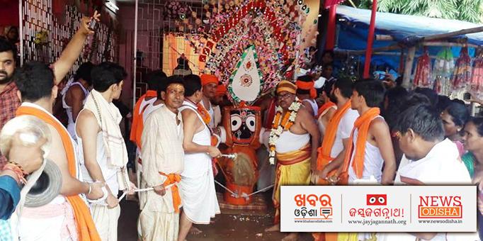 Lord Jagannath's Pahandi Bije Ritual in Mayurbhanj's Karanjia