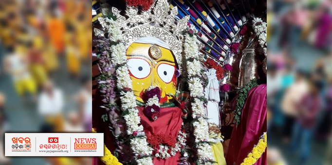 Devi Subhadra looks beautiful with ornaments in Boudh