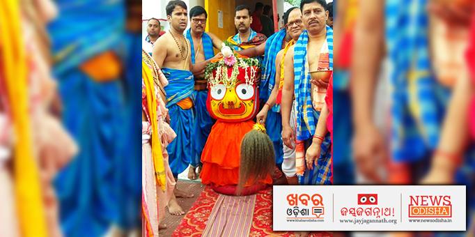Maa Subhadra's Pahandi Bije in Angul