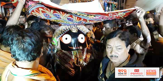 Khabar Odisha:Lord-Jagannath-completes-nine-day-long-Rath-Yatra-returns-to-temple