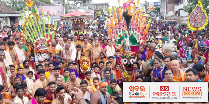 Stunning sight of Pahandi Bije of the deities, pictures from Raygada