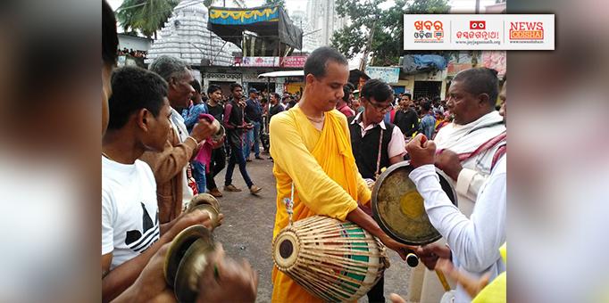 Nam Sankirtan during Bahuda Yatra in Nabarangpur