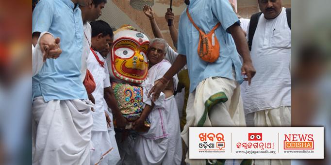 Pahandi Bije ritual of Devi Subhadra at ISCKON, Abids, Hyderabad