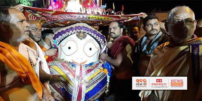 Lord Balabhadra returns to own temple after Rath Yatra in Keonjhar