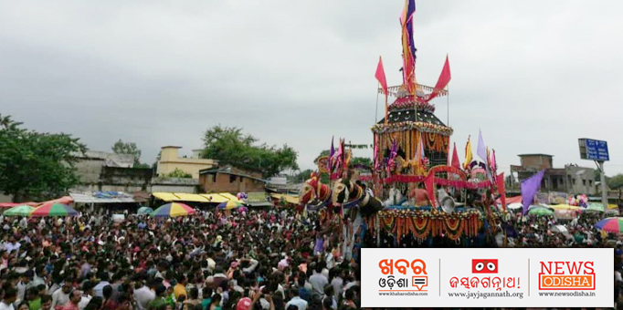 Thousands of devotees participated in Ratha Yatra in Bhatli