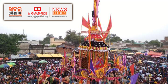 Jay Jagannath: Bahuda-Yatra-was-celebrated-with-much-fanfare-across-Western-Odisha-as-well-pictures-from-Baragarhs-Bhatli