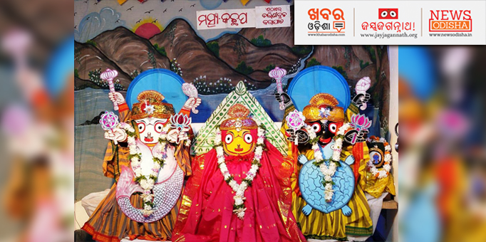 Lord Jagannath and Lord Balabhadra in