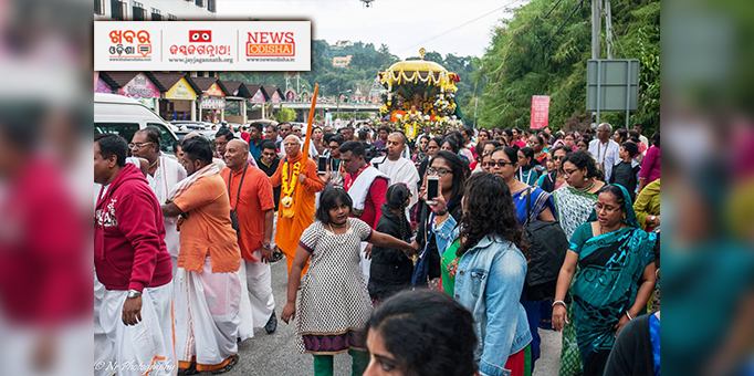 Deities coming in Pahandi at Cameron Highlands, Malaysia