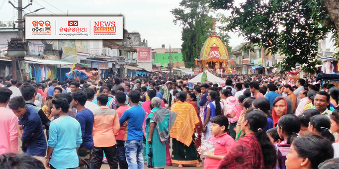 Heavy crowd of devotees on occasion of Bahuda Yatra in Phulbani