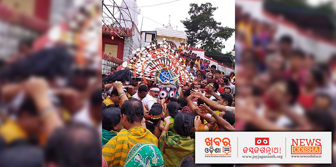 Lord Jagannath's Goti Pahandi ritual at the Shree Gundicha temple