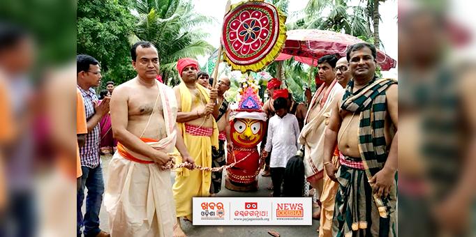 Khabar Odisha:Devi-Subhadras-pahandi-ritual-at-Nalco-in-Anugul