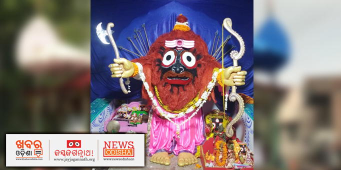 Jay Jagannath: Lord-of-the-Universe-in-Parshuram-Besha