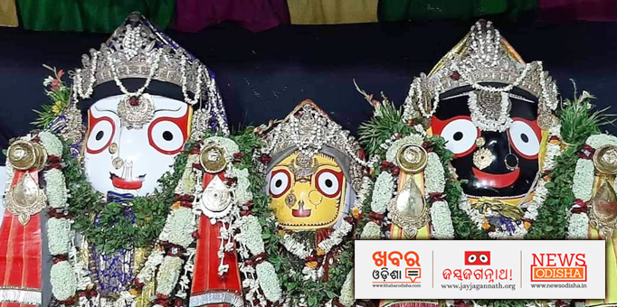 Pictures of the Holy Triad from Baripada