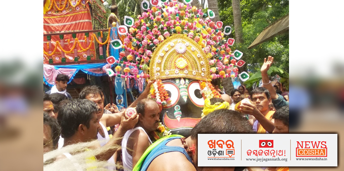 Pahandi Bije of Lord Jagannath