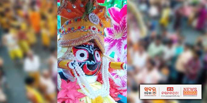 Jay Jagannath: Lord-Jagannath-on-the-chariot-for-return-journey-to-his-temple-at-Haripur
