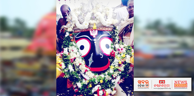 Lord Jagannath's golden attire in Dhenkanal