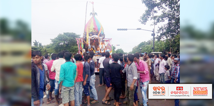 Holy Trinity's Bahuda Yatra at Bharatpur in Chandaka, Bhubaneswar