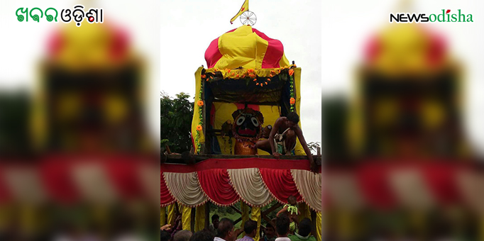 Lord Jagannath returns home after Bahuda Yatra at Kotsamalai in Subarnapur