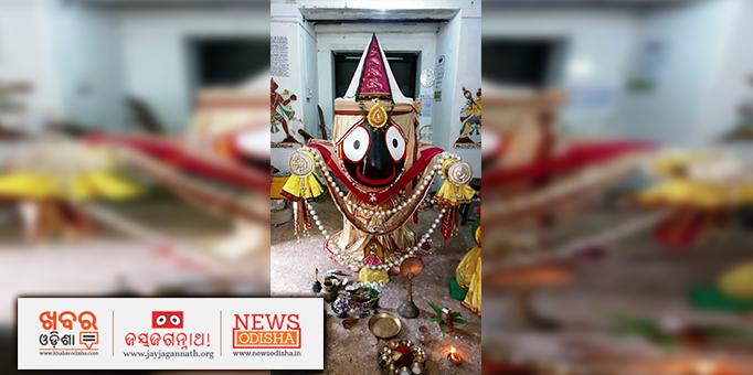 Lord Jagannath's Naba Jauban Besha in Badamba