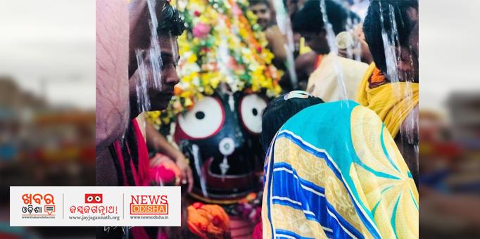 Lord Jagannath's Pahandi ritual amid heavy rain Nilagiri, Balasore