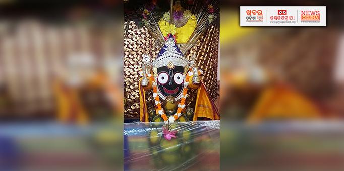 Khabar Odisha:Kachhap-turtle-Avatar-of-Lord-Jagannath-at-Gundicha-temple-in-Patnagarh-Bolangir