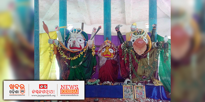 Jagannath Cult is deeply rooted in ancient tribal culture of Odisha, pictures of Ratha Yatra from tribal dominated  Suvarnapur