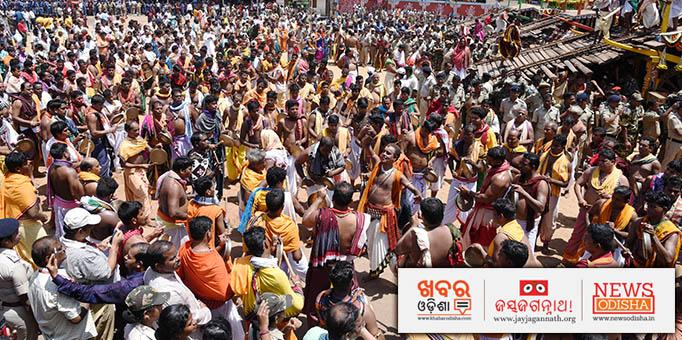 Lakhs throng Saradhabali on the occasion of Bahuda Yatra.