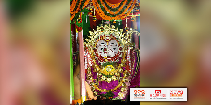 Jay Jagannath: Golden-attire-of-Lord-Balabhadra-at-ISCKON-temple-in-Bhubaneswar