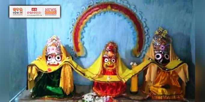 Suna Besha of the sibling deities at Dabugaan in Nabarangpur