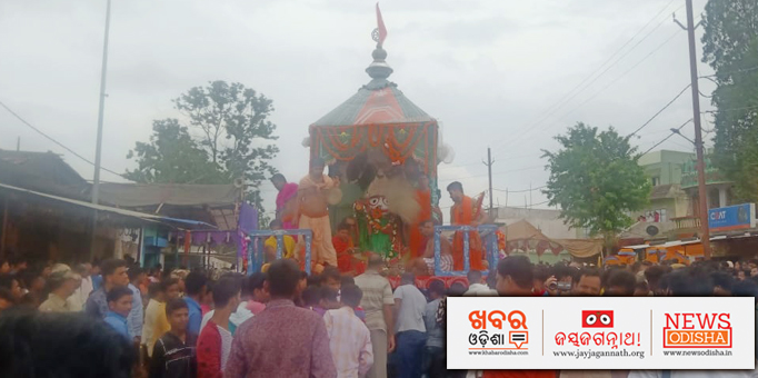 Lord Balabhadra on the chariot