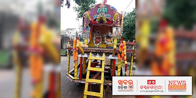 Jay Jagannath: Ratha-Yatra-celebrated-with-much-fanfare-at-Gadakana-near-Bhubaneswar