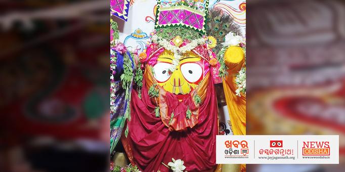 Devi Subhadra on Ratna Singhasan in Nilagiri, Balsore