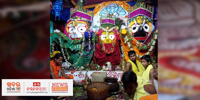 Sibling deities on Ratna Bedi in Nilagiri, Balsore
