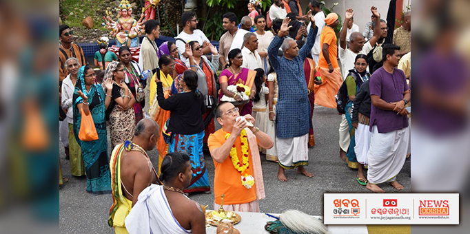 Cameron Highlands, Malaysia reverberates with conch sound for Rath Yatra