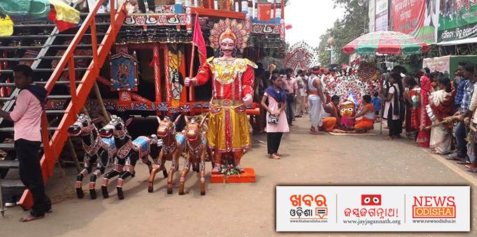 Maa Subhadra's Pahandi Bije ritual in Mayurbhanj's Karanjia